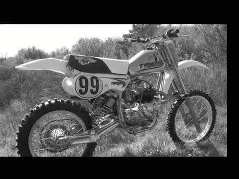 Classic Dirt Bikes Triumph and Maico Twinshocker Part 3