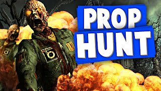 ZOMBIES & EXPLOSIVES! | G Mod Prop Hunt Funny Moments