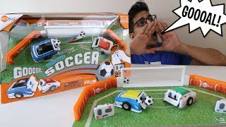 UNBOXING & LETS PLAY - ROBOTIC SOCCER ARENA by HEXBUG - FULL REVIEW!