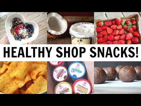 HEALTHY SUPERMARKET SNACKS!