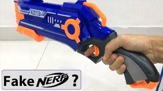 Fake Nerf gun Rough Cut? Video