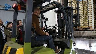 Dietrich visitó el primer puerto de carga seco en Tucumán