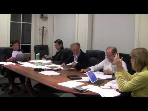 Weston MA Planning Board 10/1/2014: 10:15 - Cambridge School of Weston