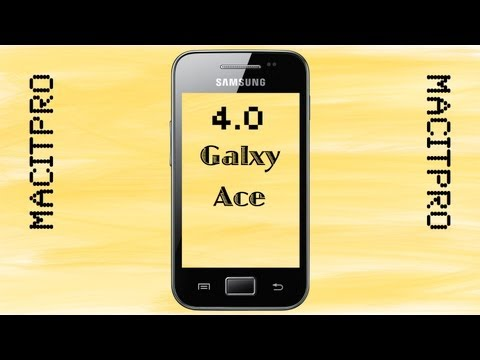 Android 4.0 Auf Samsung Galaxy Ace [GER] [HD]