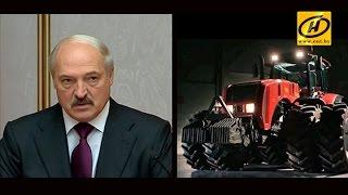 Александр Лукашенко раскритиковал белорусское машиностроение
