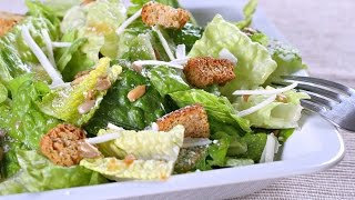 10 Day Detox Diet Recipes - Romaine Lettuce Salad