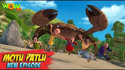 Motu Patlu New Episodes 2021 The Giant Crab Funny Stories