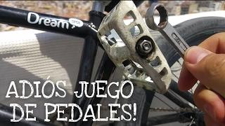 Como Quitar la Holgura/ Juego de los Pedales! | BMX | DIRT | TRIAL | TUTORIAL A MI ROLLO !