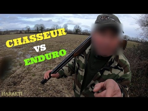 CHASSEUR QUI PETE UN PLOMP #1 CHASSEUR VS MOTO / ANGRY PEOPLE #1