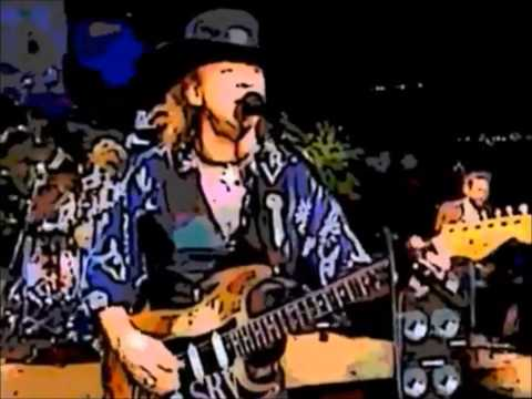 Stevie Ray Vaughan '89 Concert Remastered As Cartoon HD