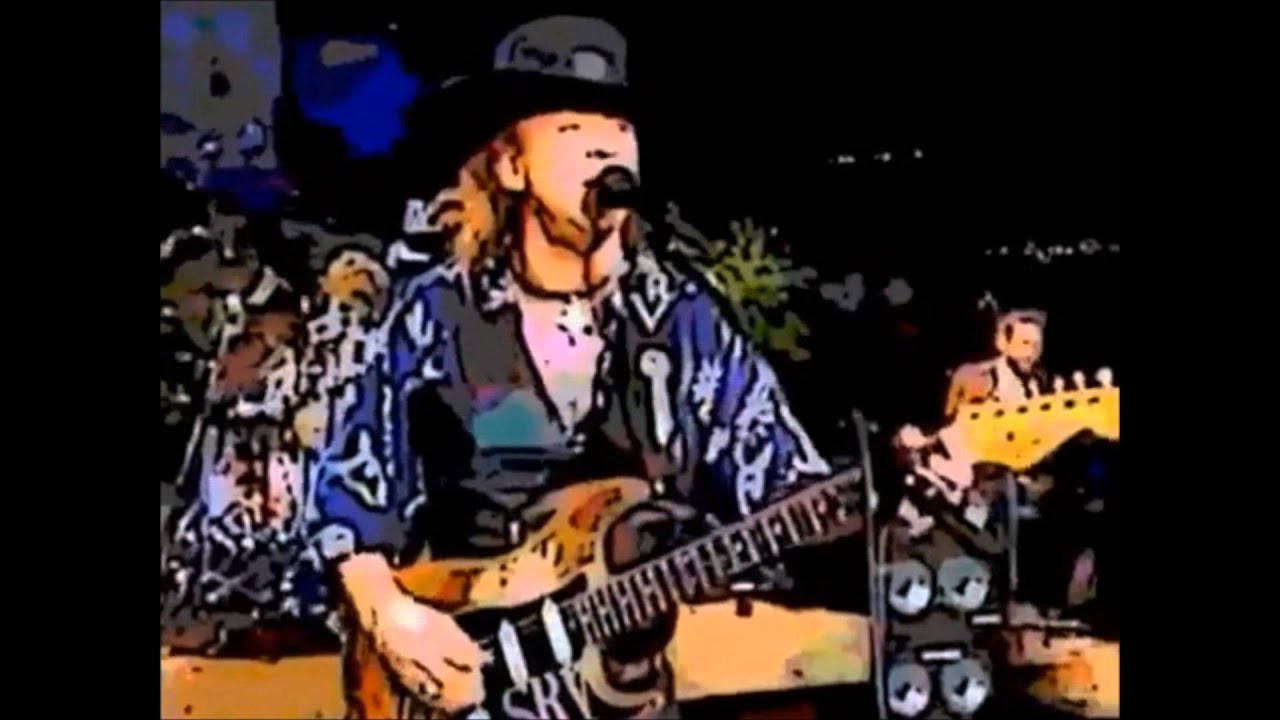 stevie ray vaughan 39 89 concert remastered as cartoon hd youtube