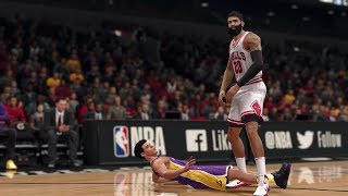 NBA LIVE 18 THE ONE STRETCH BIG | RIP LONZO BALL! SUPERSTAR IS UNFAIR!