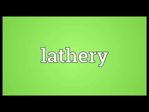 Header of lathery