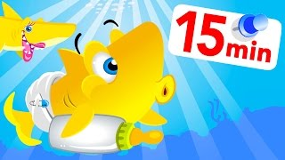Funny Baby Shark Remixed! Animal Dance! Counting Peeps! Roaring Lion King! by Little Angel