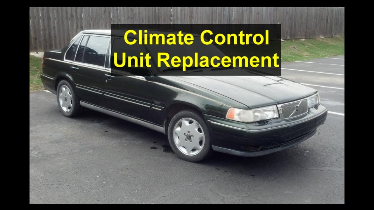 Climate control unit replacement, Volvo 960, S90, V90, etc  - VOTD