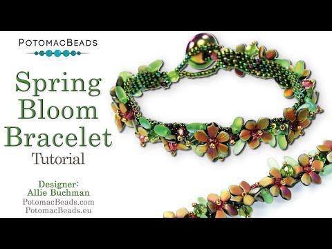 Spring Bloom Bracelet (Tutorial)