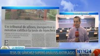 España: tesis doctoral del presidente superó análisis anti plagio