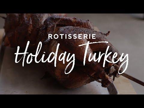 Rotisserie Holiday Turkey Recipe