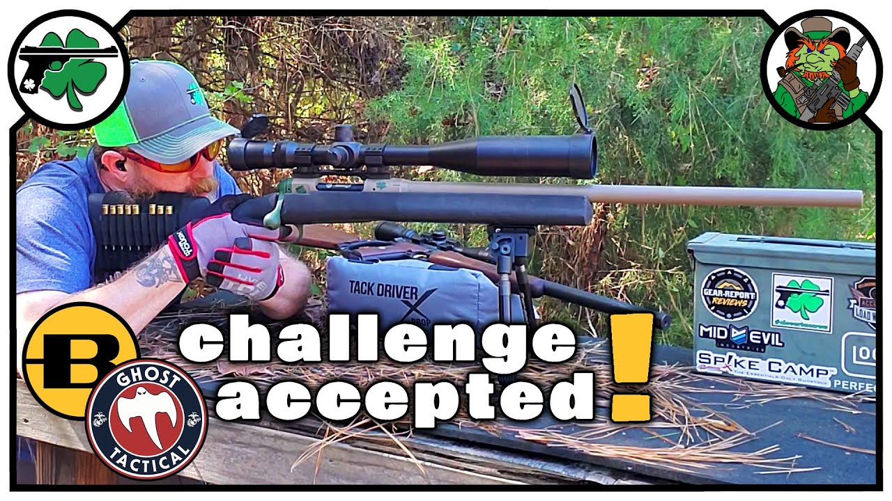 Staight Up FuddLyfe REPLY to the Ghost Tactical Bergara Challenge  in CloverTac STYLE