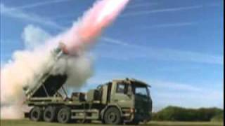 this is indian missile name akash.....pakistani beware from indian missile