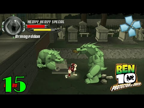 Ben 10 Protector Of Earth Part 15 New Orleans PPSSPP Play On Android