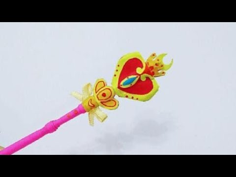 How to make a Princess Magic Wand | DIY paper crafts | Easy Origami step by step Tutorial