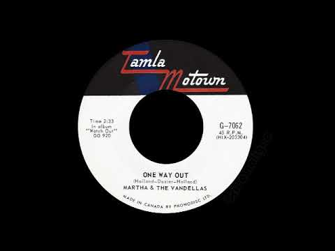 Martha & The Vandellas - One Way Out