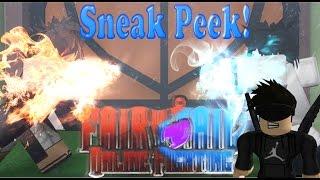 Roblox Fairy Tail sneak Peek Fairy Law Magic!