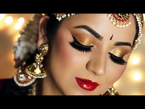 Recreating My Traditional Bridal Look Indian Wedding Makeup Tutorial Youtube