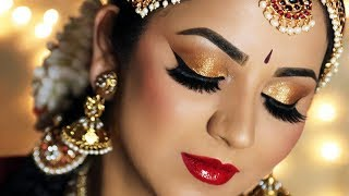 Recreating my Traditional Bridal Look | Indian Wedding Makeup Tutorial
