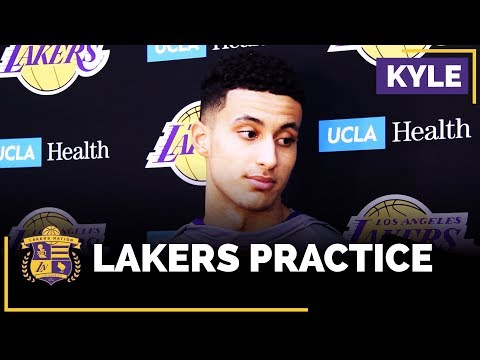 Kyle Kuzma On Chris Bosh Being At Lakers Practice, Friendship With Monte Morris