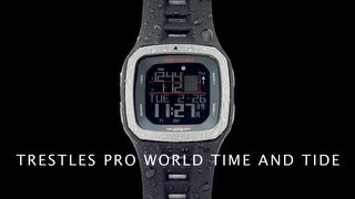 Rip Curl Watches: Trestles Pro World Tide & Time Training