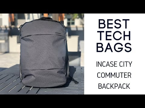 Incase City Commuter Pack Review - Expandable 23L Tech Bag with Tons of  POCKETS