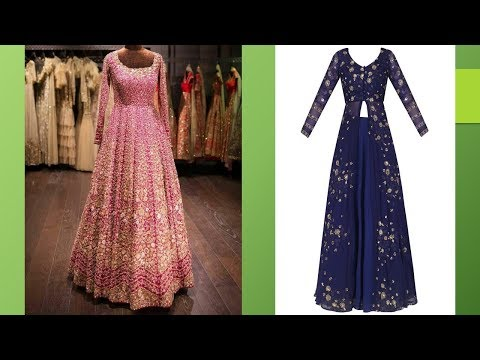 Party Wear Princess Gown Designs 2018