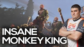 LeBronDota 7.5k MMR MONKEY KING INSANE GAMEPLAY - 7.00 PATCH UPDATE Dota 2