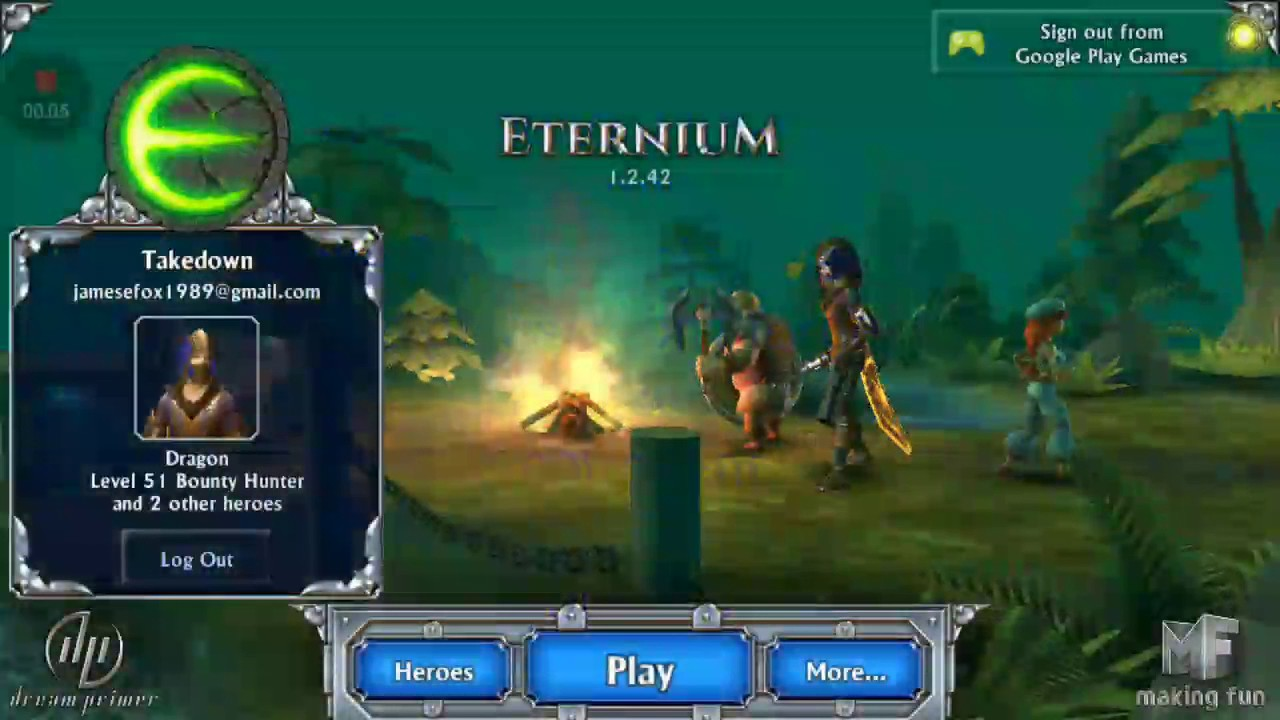 Eternium Mage and minions hints and tips bosses  The broken dragon