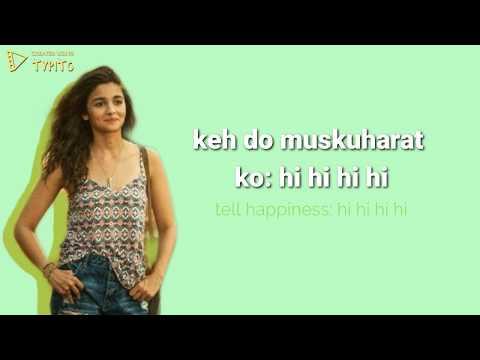 Love You Zindagi Lyrics [hindi / English]