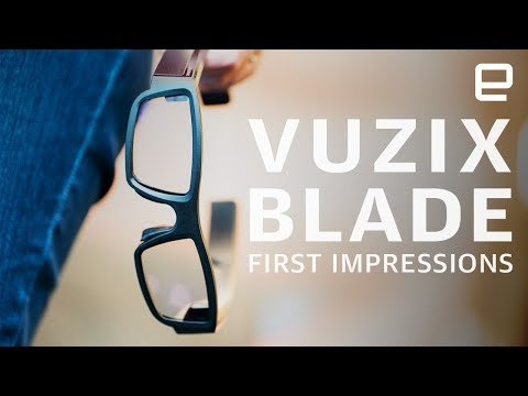 Vuzix Blade AR glasses First Impressions