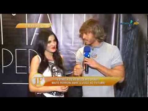 Maite Perroni no TV Fama 20-11-2013 Videos De Viajes