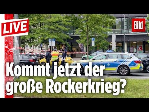 🔴 Rockerkrieg: Blutiger Angriff am Tag in München | BILD Live
