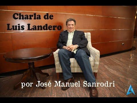 Luis Landero en una charala en el Gran Teatro de Elche (Diario de Alicante)