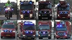 Vele hulpdiensten met spoed naar brand GRIP 1 in Hellevoetsluis