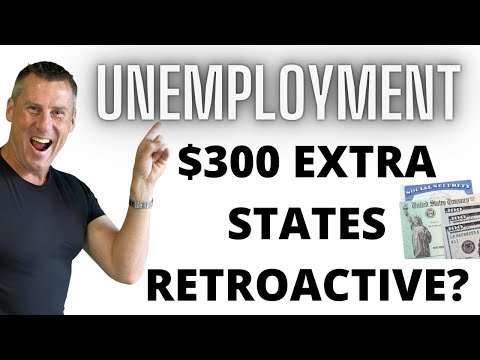 STATES APPROVED Unemployment Extension $300/$400 wk 01 09 PU