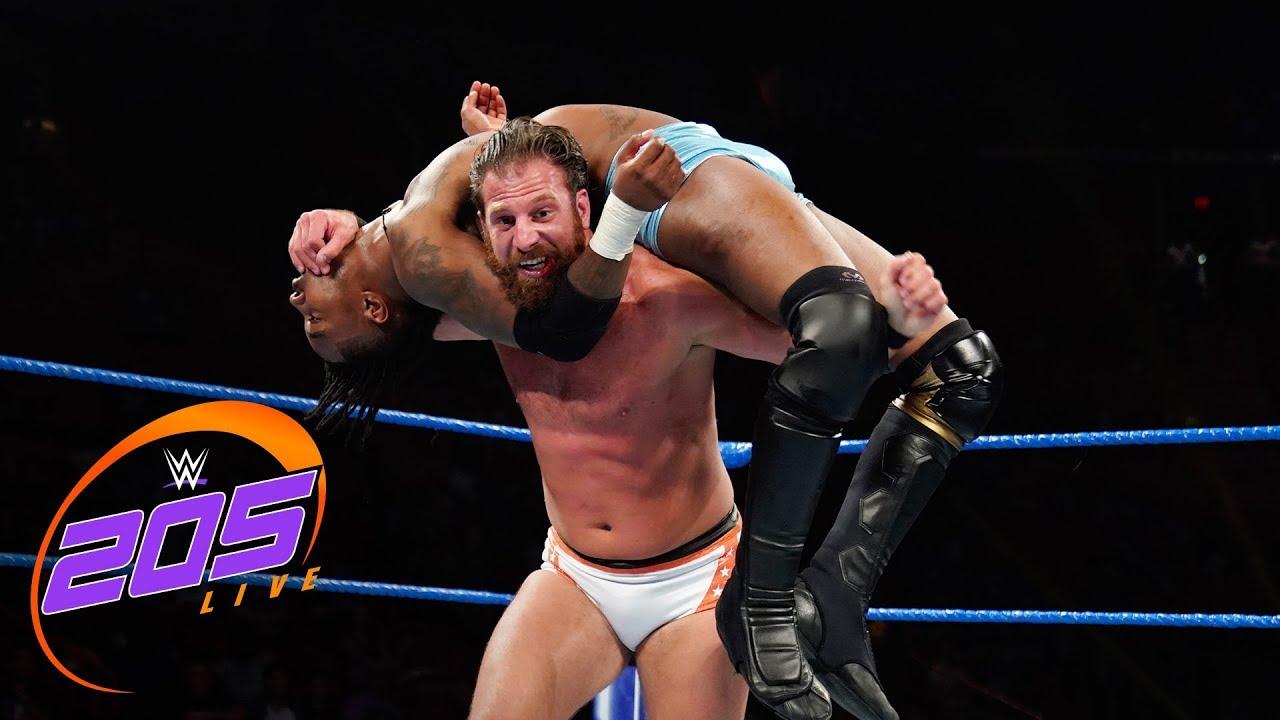 "Isaiah ""Swerve"" Scott vs. Drew Gulak: WWE 205 Live, July 23, 2019"