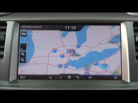 voice activated navigation system with sync with myford. Black Bedroom Furniture Sets. Home Design Ideas