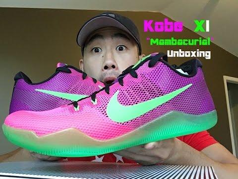 Tratar Civilizar Tranquilizar  Kobe 11 Mambacurial Unboxing - YouTube
