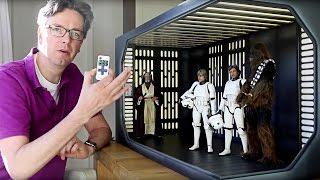 Star Wars 1/6 scale Death Star Diorama for Hot Toys, Sideshow, Medicom and Tamashii