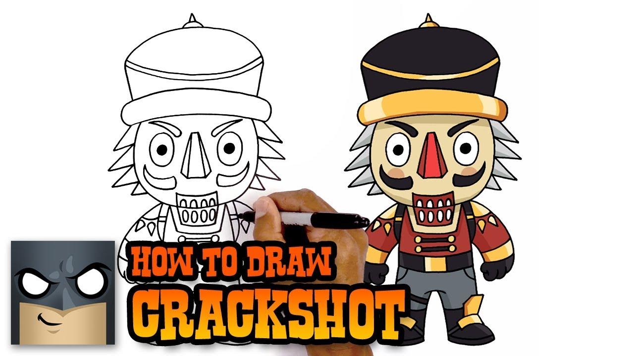 Coloriage Figurine Pop Fortnite.How To Draw Fortnite Crackshot Youtube
