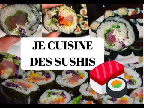 JE CUISINE DES SUSHIS !