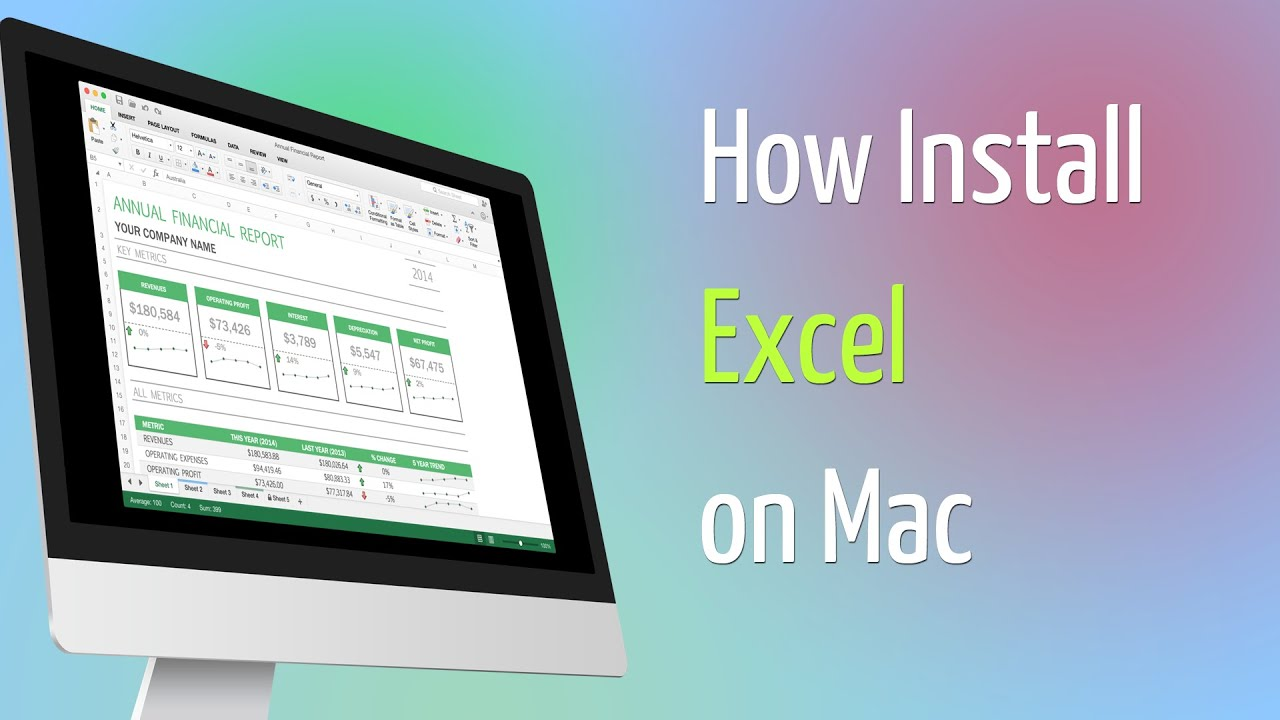 install excel on mac for free
